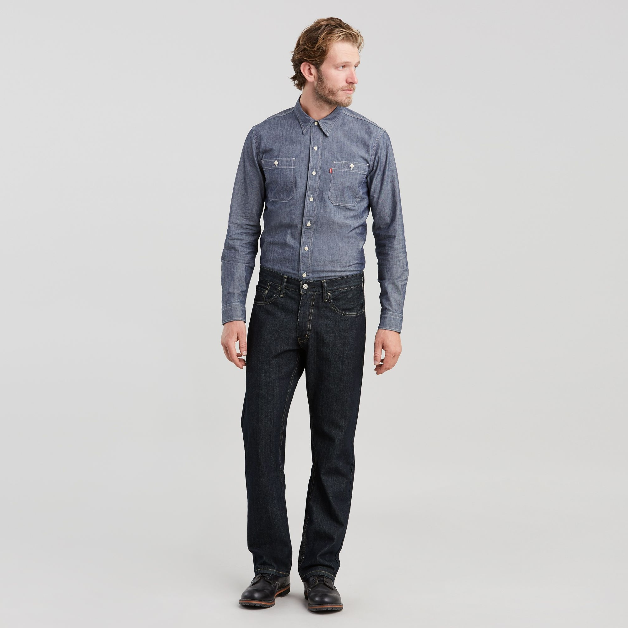 559™ Relaxed Straight Jeans Tumbled Rigid 00559-4010 1