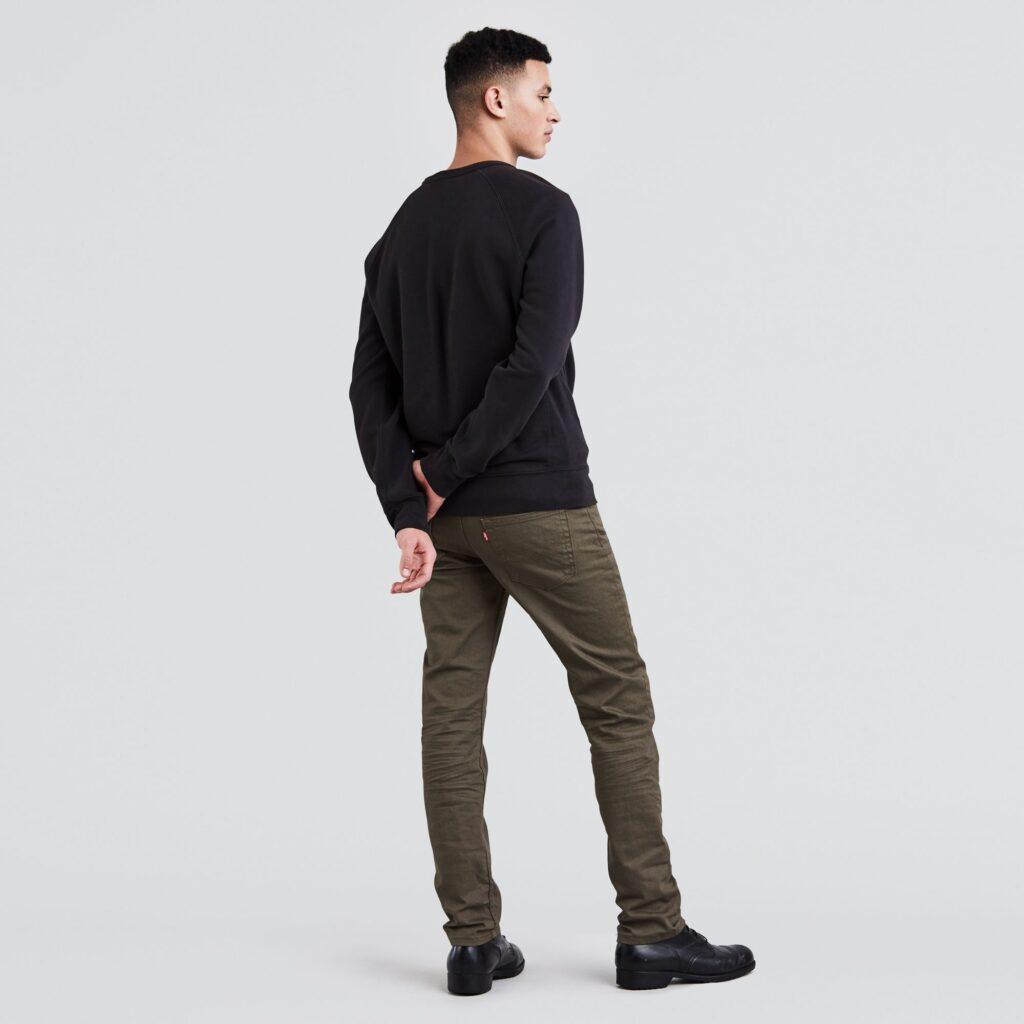 511™ Slim Fit Jeans Khaki 04511-2273 2