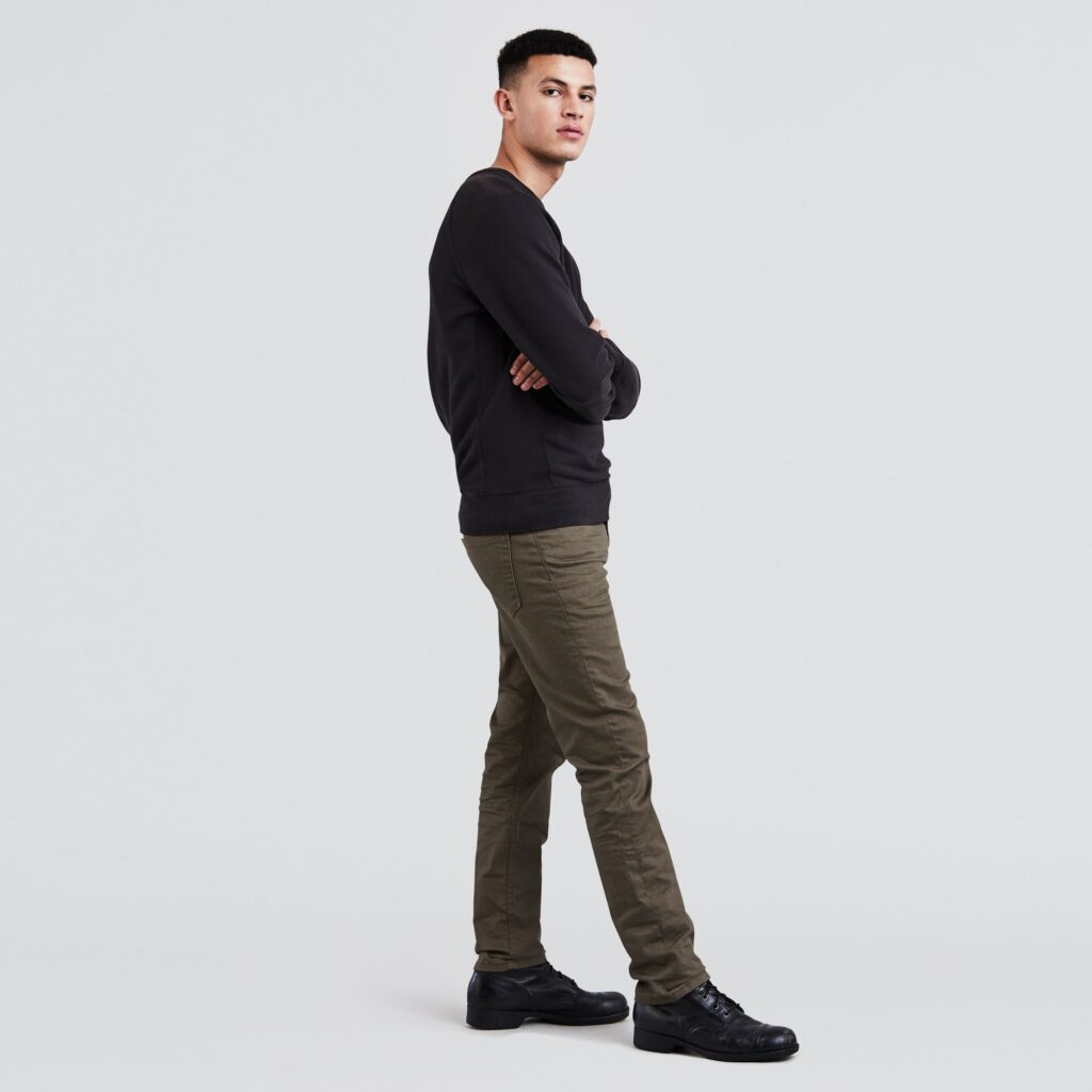511™ Slim Fit Jeans Khaki 04511-2273 3