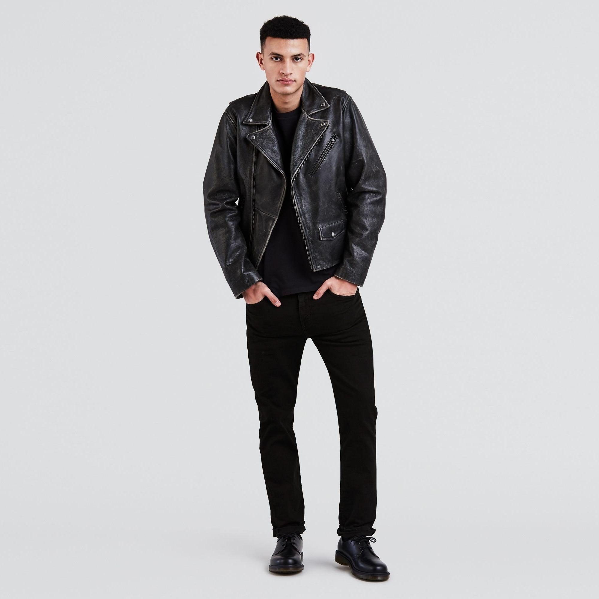511™ Slim Fit Jeans Black Stretch 04511-4406