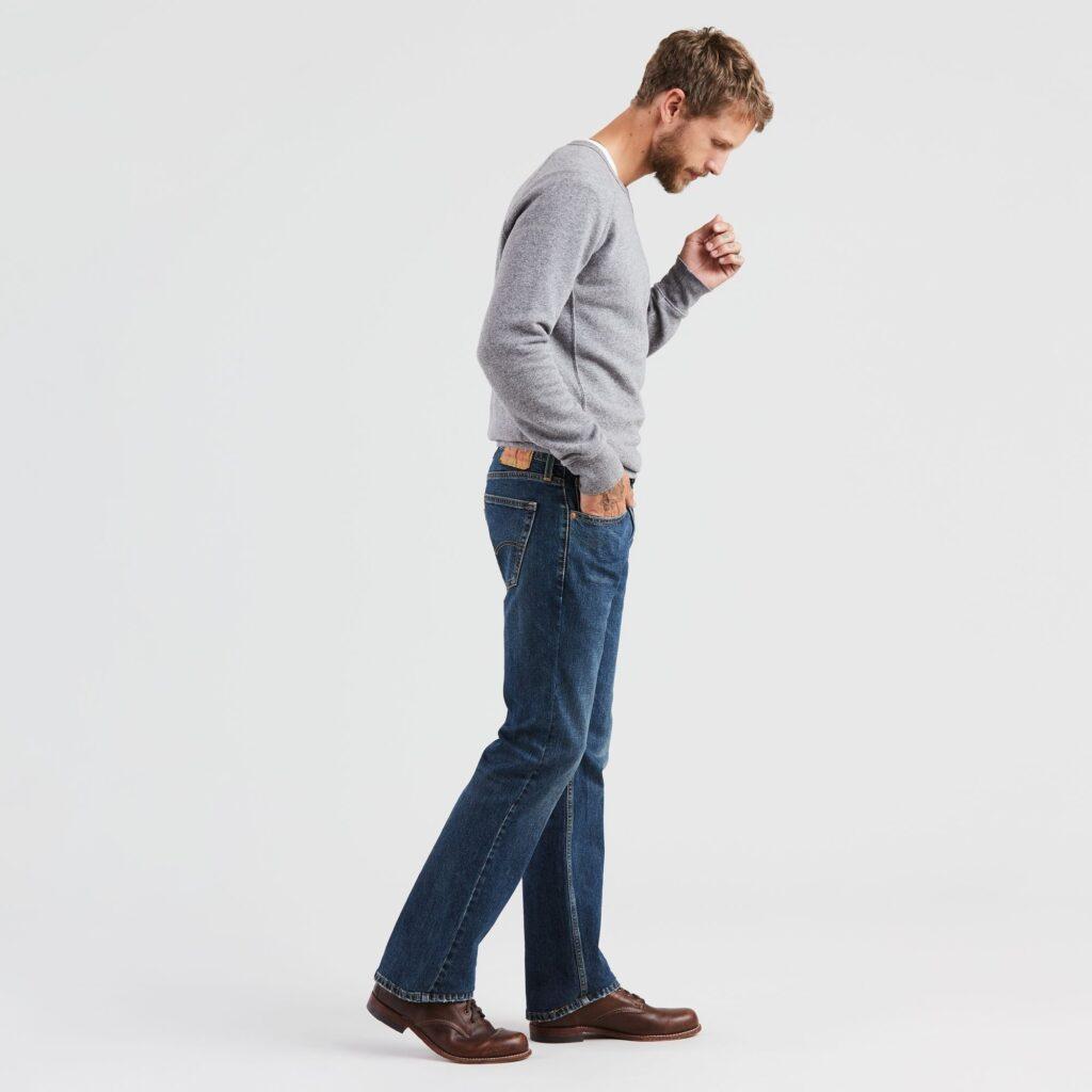 Мужские Джинсы 527 Slim Boot Cut