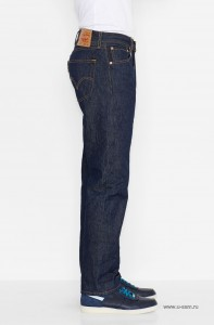 Мужские джинсы 501 Original Shrink -To- Fit Jeans Indigo Blue