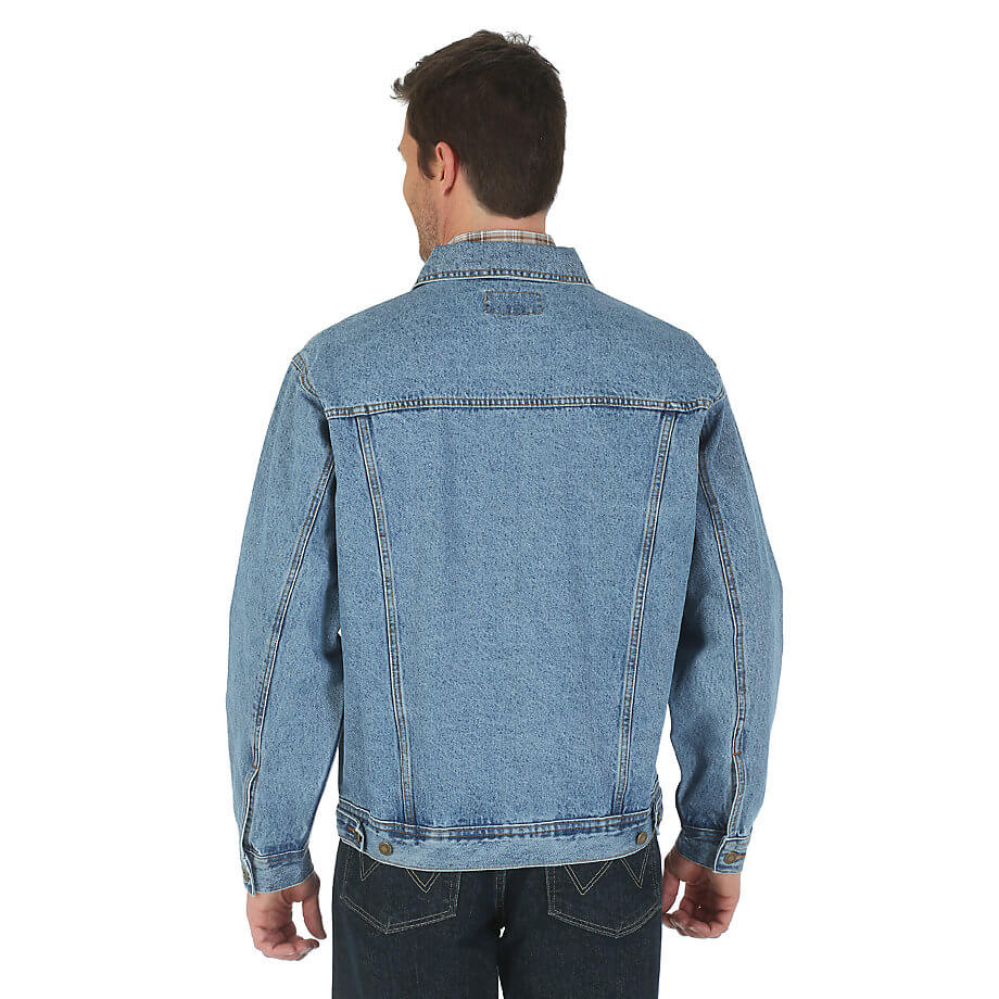 Wrangler Rugged Wear Denim Jacket Vintage Indigo RJK30VI