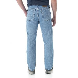 Мужские джинсы Wrangler 39902RI Mens Rugged Wear Classic Fit Jeans
