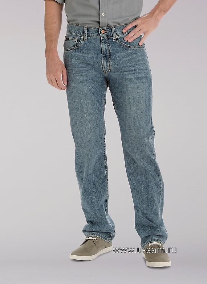 LEE Premium Select Regular Straight Leg Jeans Phantom 200-1945