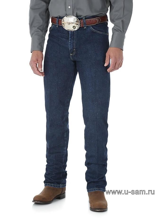 Wrangler® George Strait Cowboy Cut® Original Fit Jean Dark Stone 13MGSDS
