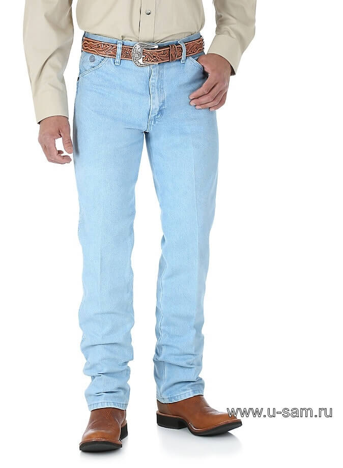Wrangler® George Strait Cowboy Cut® Original Fit Jean Bleach 13MGSGH