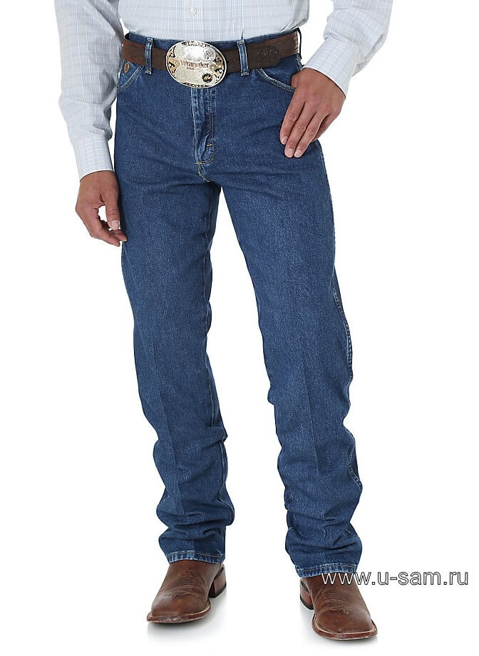 Wrangler® George Strait Cowboy Cut® Original Fit Jean Heavyweight Stone Denim 13MGSHD