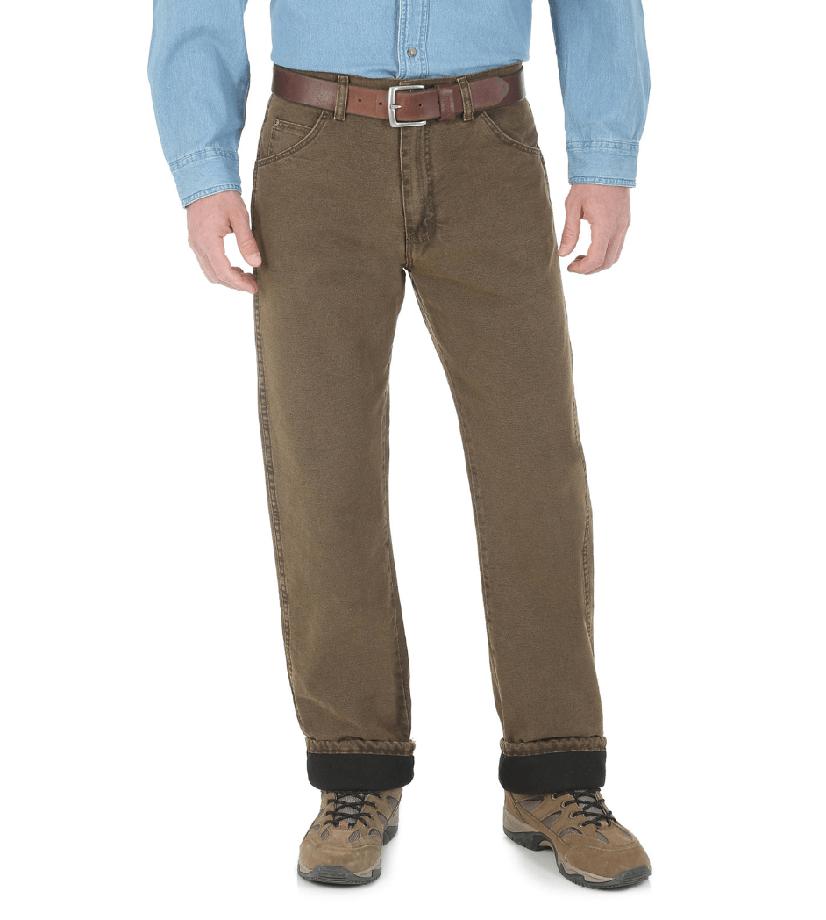 Утепленные мужские джинсы Wrangler