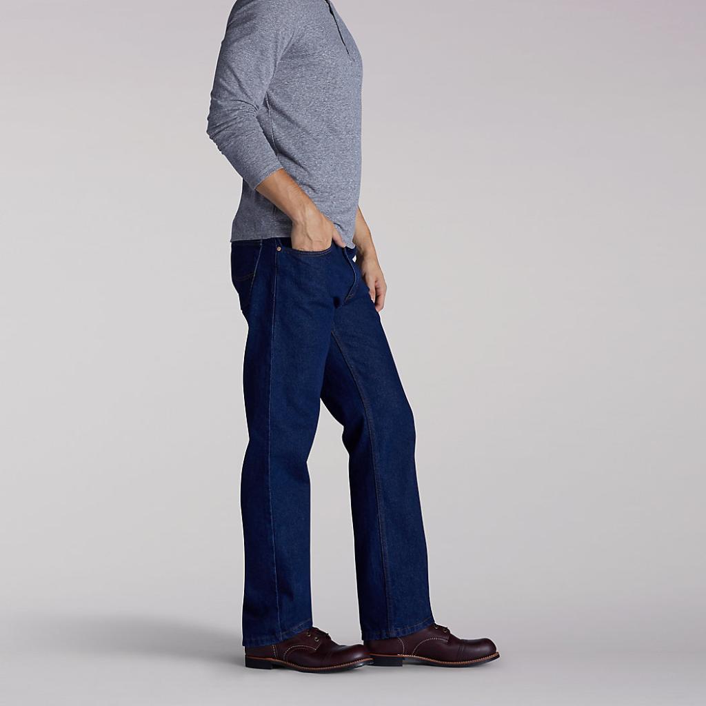 LEE Regular Fit Bootcut Jeans Pepper Prewash 202-0389 3