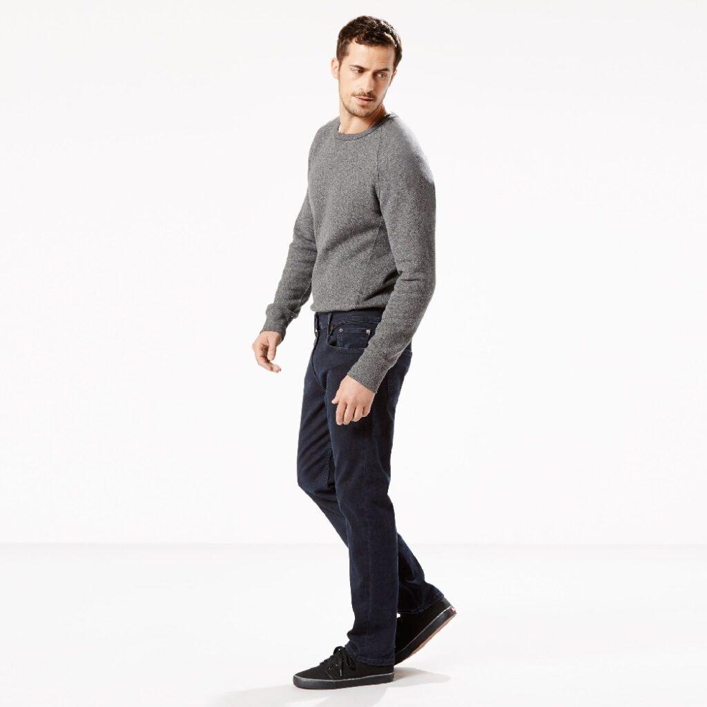502 Regular Taper Fit Stretch Jeans 29507-0005 3