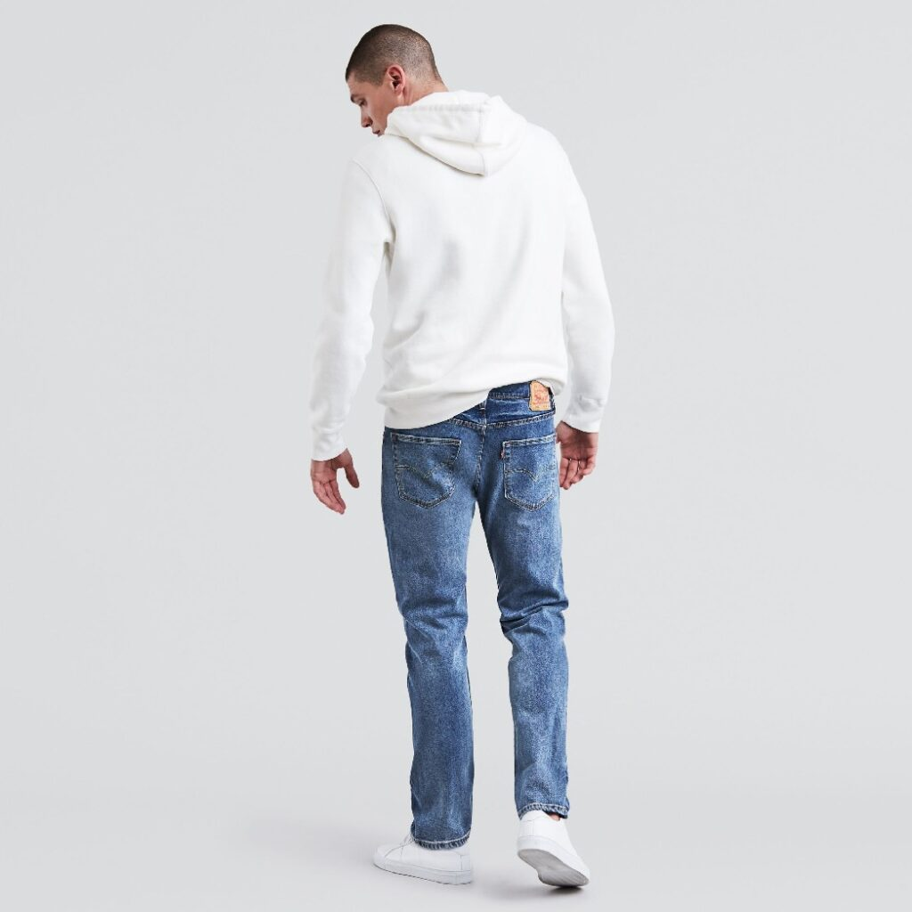 502 Regular Taper Fit Stretch Jeans 29507-0088 2