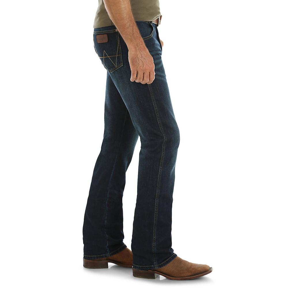Мужские джинсы Wrangler Retro® Slim Fit Bootcut Jean 77MWZFB 3