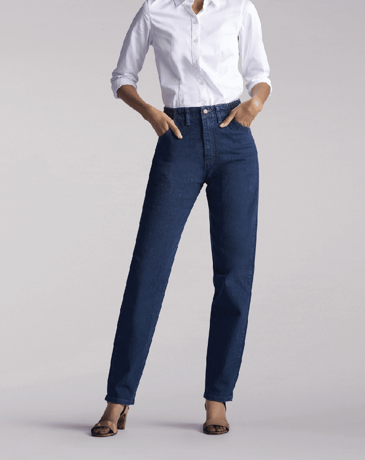 Женские джинсы LEE  Women's Relaxed Fit Side Elastic Jean 350-6141