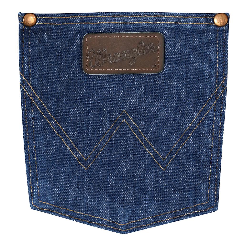 Wrangler 31MWZ Cowboy Cut® Relaxed Fit Jean Prewashed Indigo 4