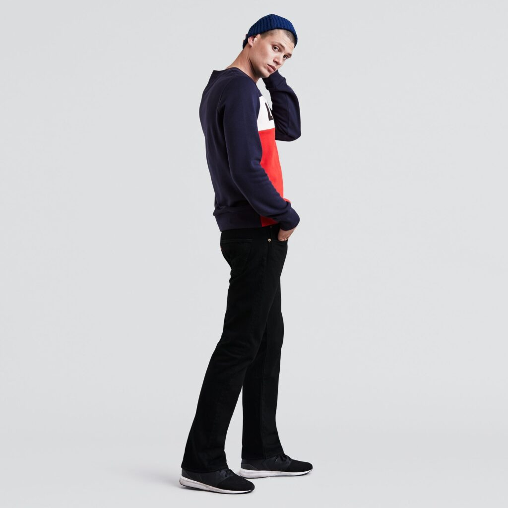 501 Original Fit Jeans Black 00501-0660 2