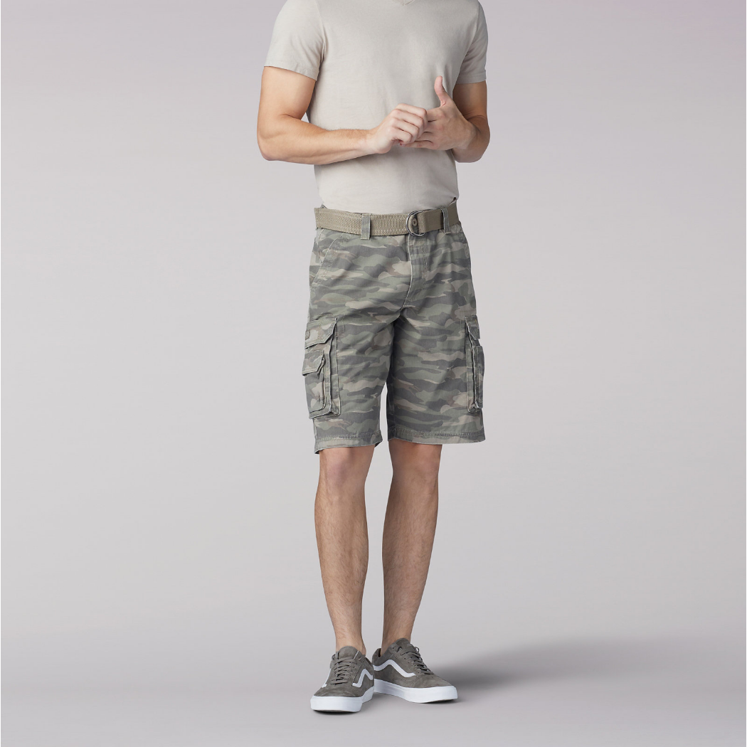 Lee Wyoming Cargo Short Fatigue Camo 1