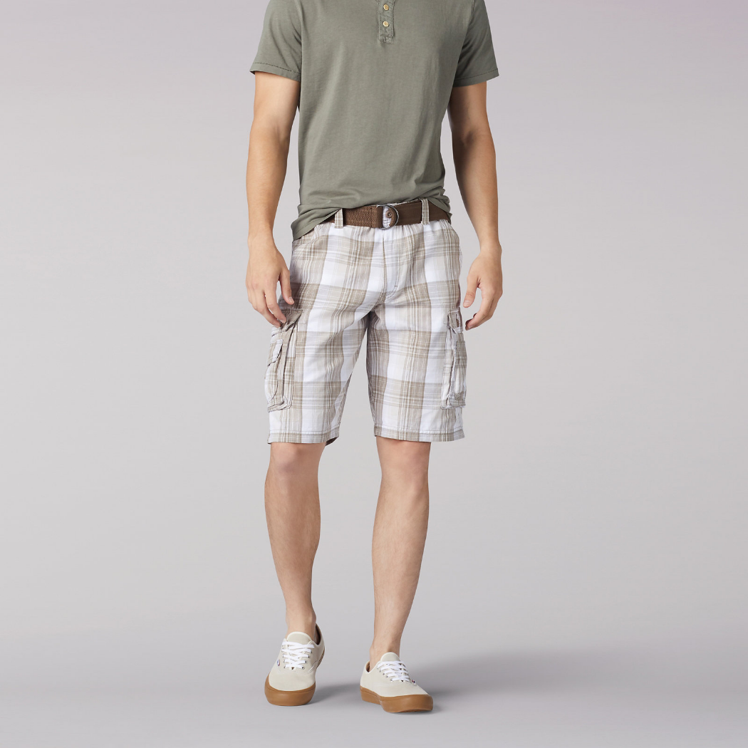 Lee Wyoming Cargo Short White Cameron 1