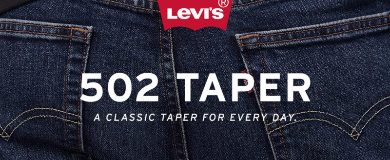 Levis 502 Taper