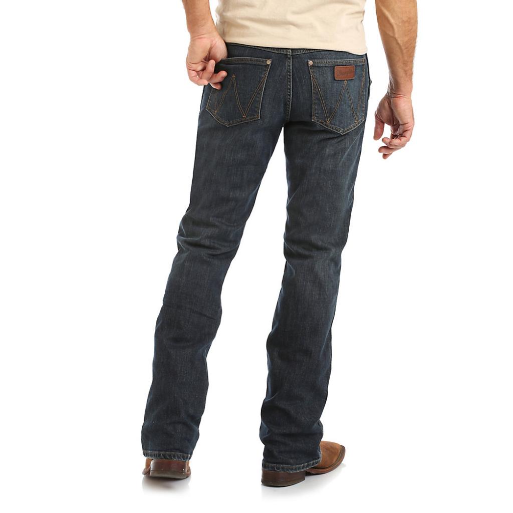 Мужские джинсы Wrangler Retro Relaxed Fit Bootcut Jean WRT20FL 2