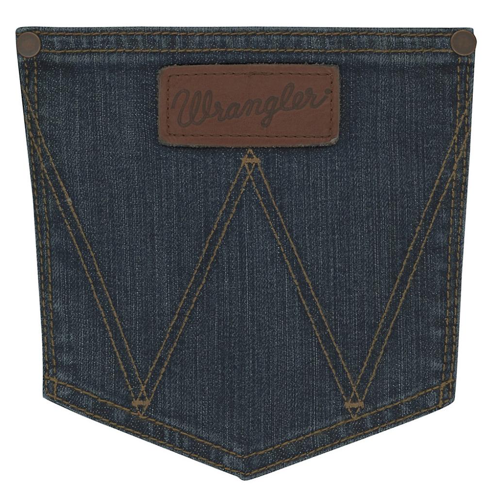 Мужские джинсы Wrangler Retro Relaxed Fit Bootcut Jean WRT20FL 4
