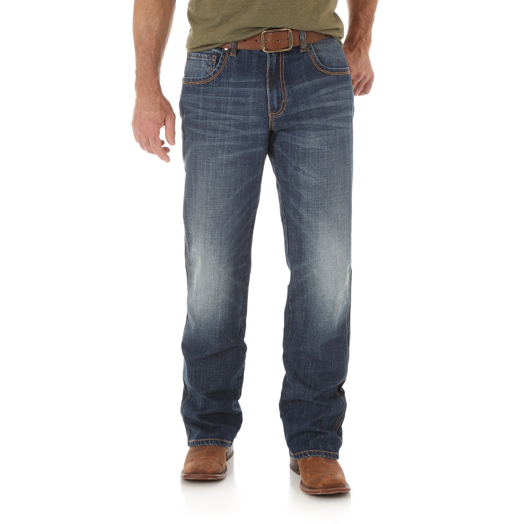 Мужские джинсы Wrangler Retro Relaxed Fit Bootcut Jean WRT20JH