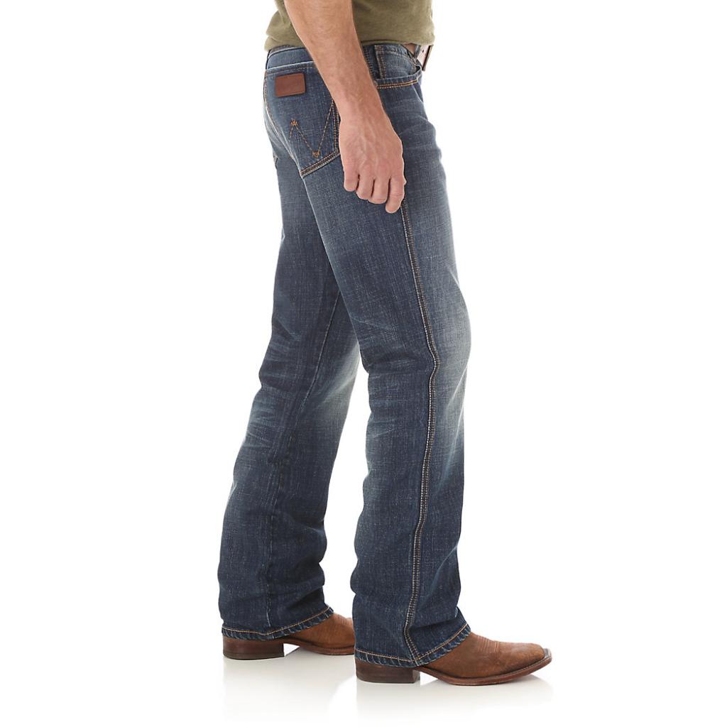 Мужские джинсы Wrangler Retro Relaxed Fit Bootcut Jean WRT20JH 2