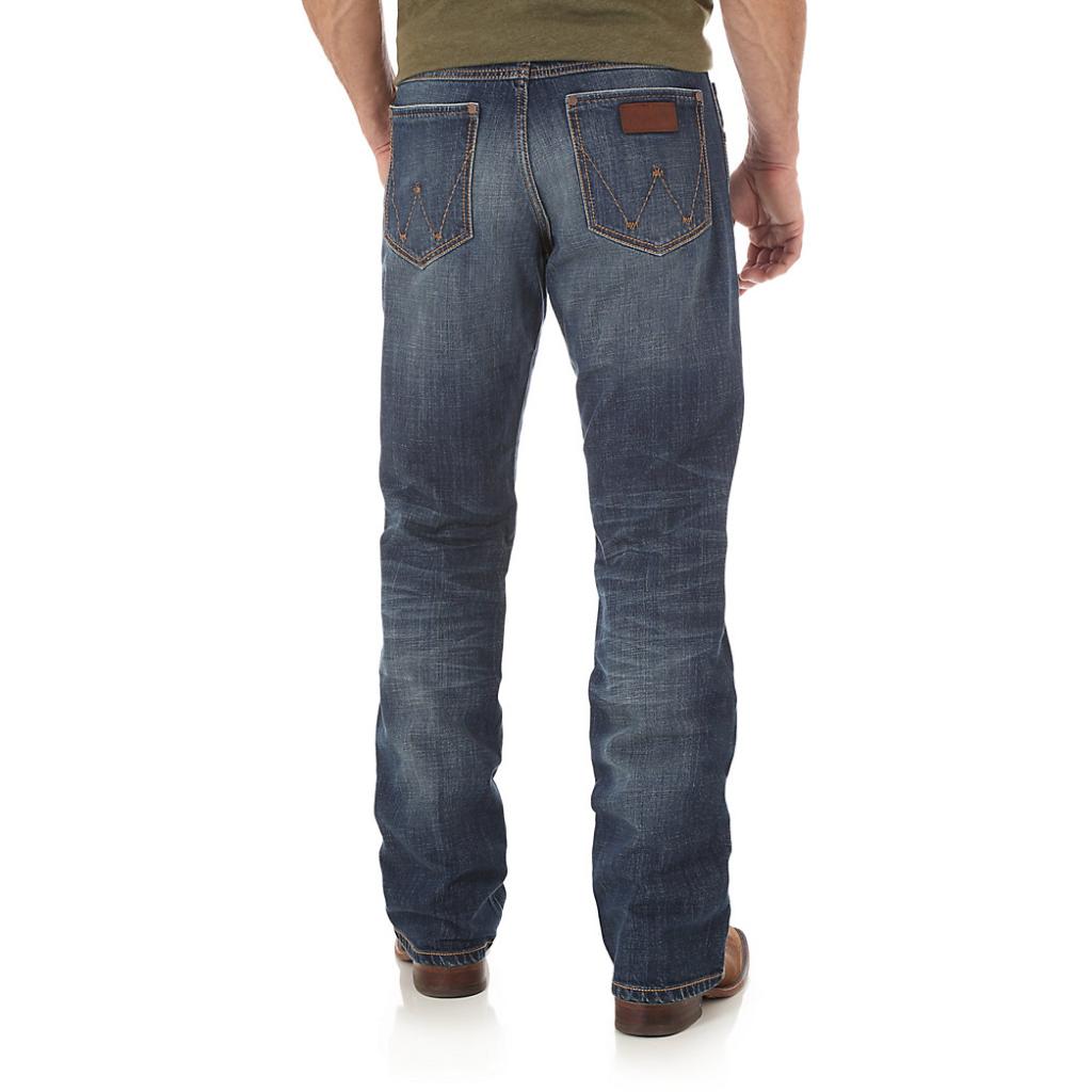 Мужские джинсы Wrangler Retro Relaxed Fit Bootcut Jean WRT20JH 3