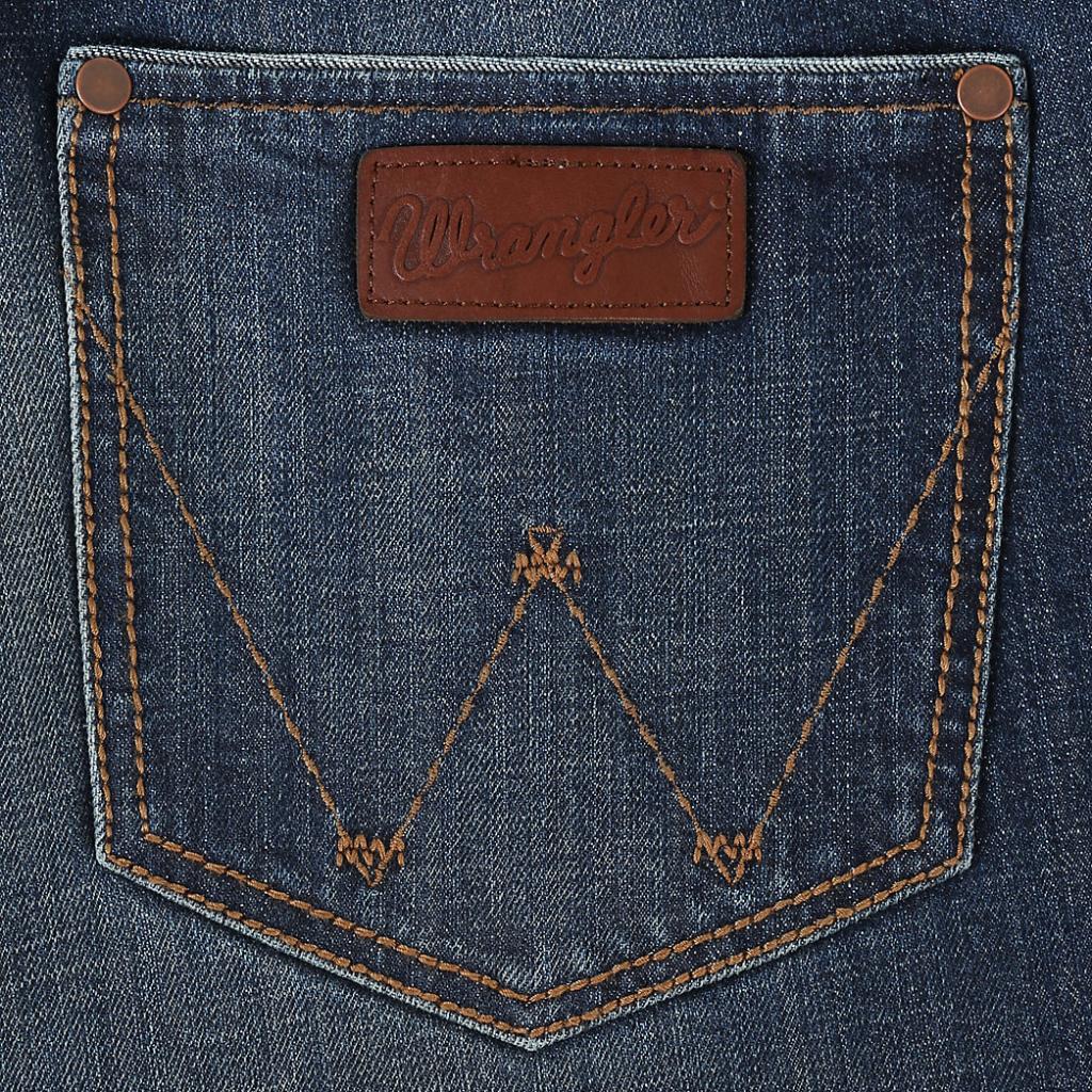 Мужские джинсы Wrangler Retro Relaxed Fit Bootcut Jean WRT20JH 4