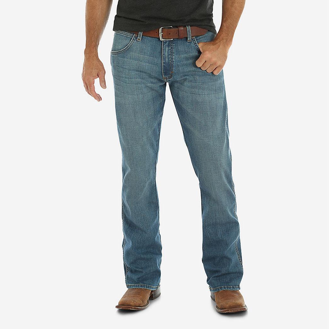 Мужские джинсы Wrangler Retro® Slim Fit Bootcut Jean Beasley 77MWZBE 1