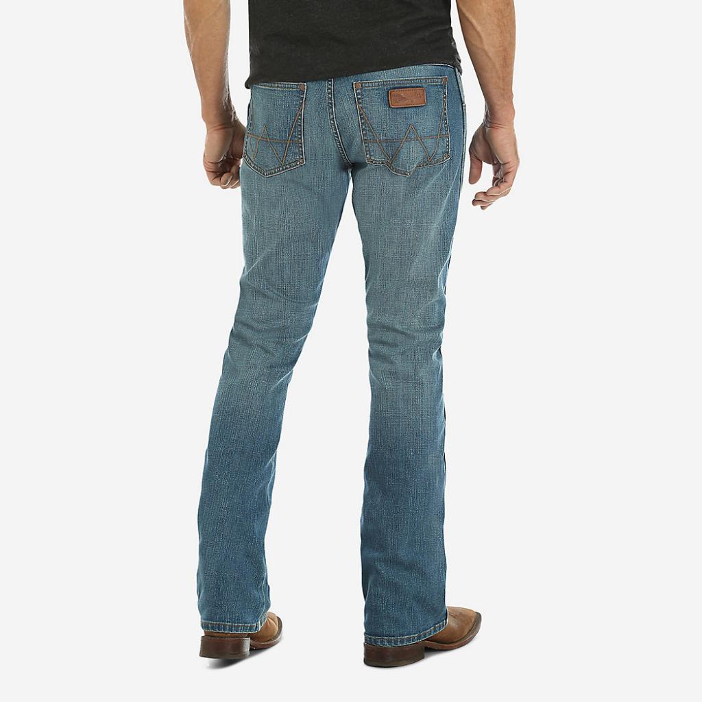Мужские джинсы Wrangler Retro® Slim Fit Bootcut Jean Beasley 77MWZBE 2