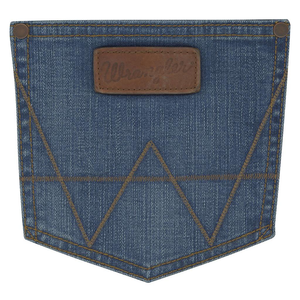 Мужские джинсы Wrangler Retro® Slim Fit Bootcut Jean Beasley 77MWZBE 4