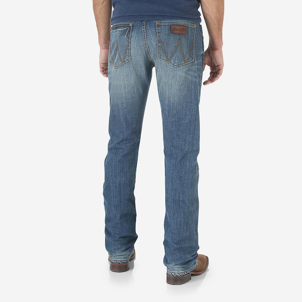 Мужские джинсы Wrangler Retro® Slim Fit Straight Leg Jean WLT88CW 2