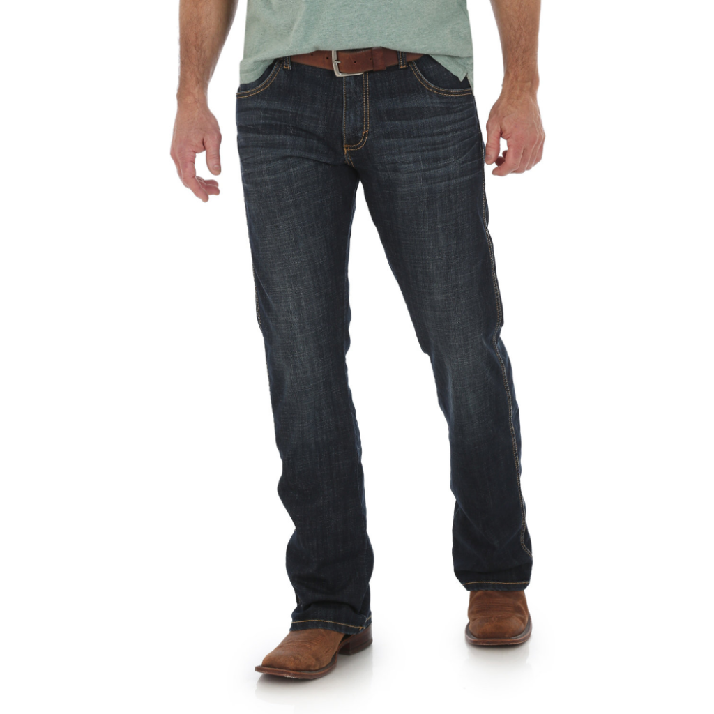 Мужские джинсы Wrangler Retro® Slim Fit Bootcut Jean 77MWZJN 1