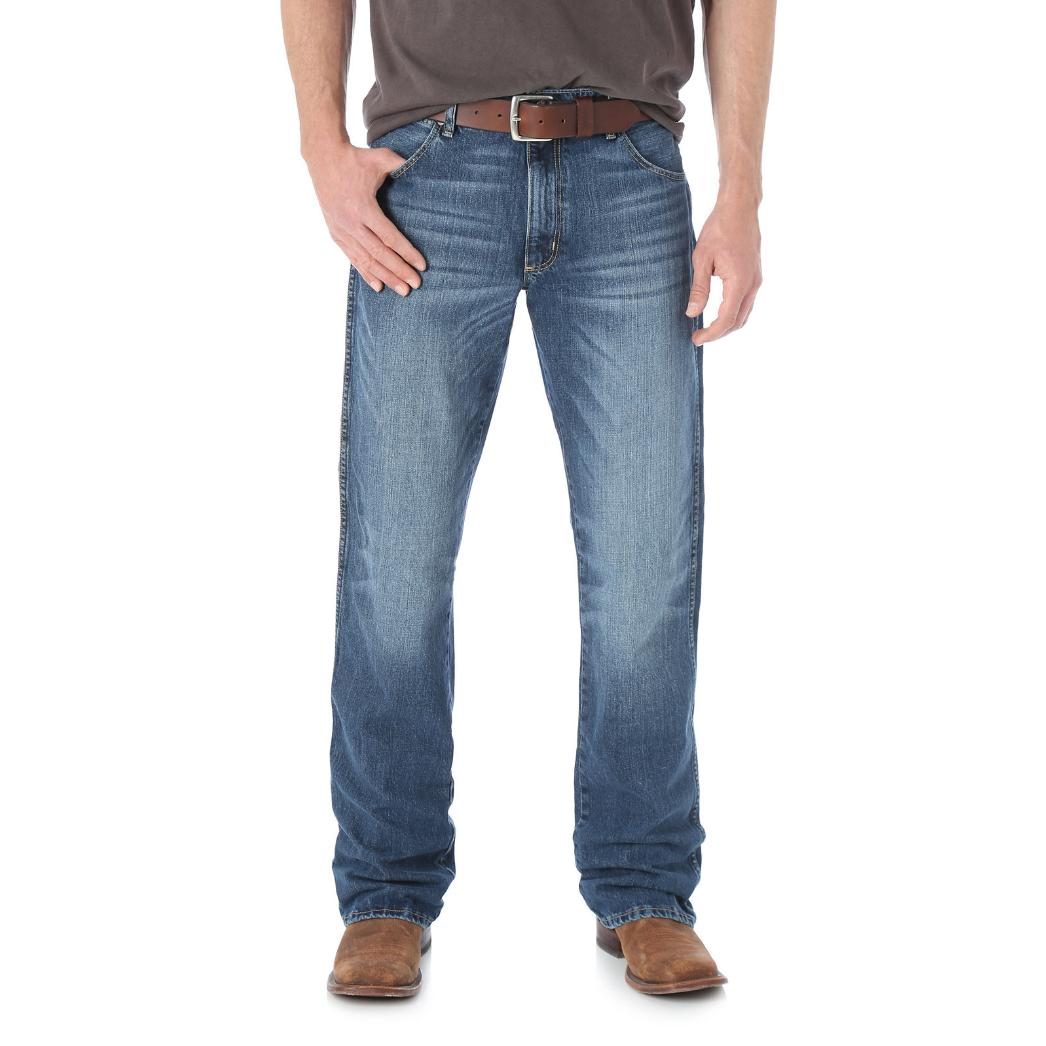 Мужские джинсы Wrangler Retro® Slim Fit Bootcut Jean 77MWZSD 1