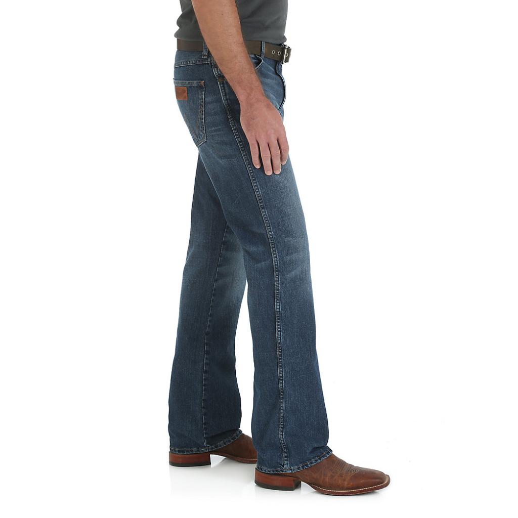 Мужские джинсы Wrangler Retro® Slim Fit Bootcut Jean 77MWZSD 2
