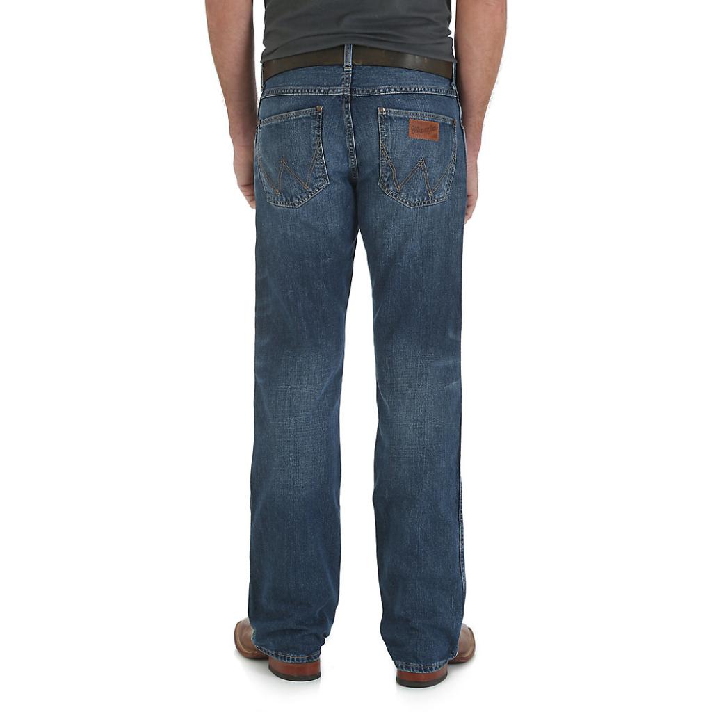 Мужские джинсы Wrangler Retro® Slim Fit Bootcut Jean 77MWZSD 3