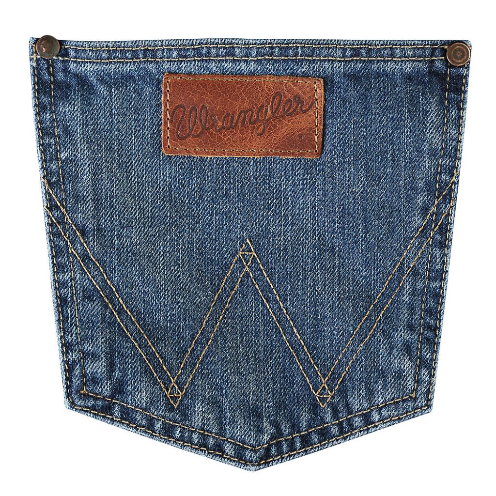 Мужские джинсы Wrangler Retro® Slim Fit Bootcut Jean 77MWZSD 4